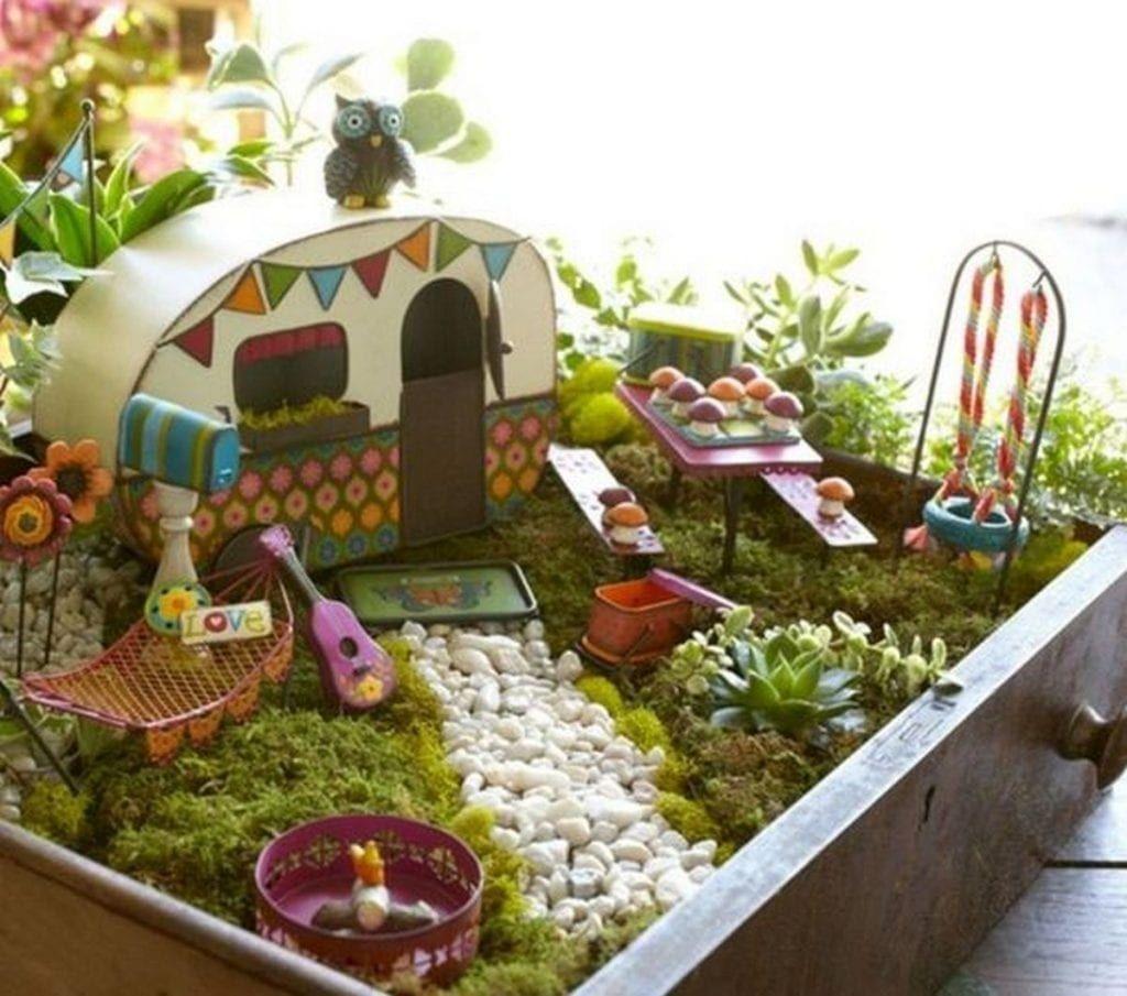 Pretty Fairy Garden Design Ideas To Try36