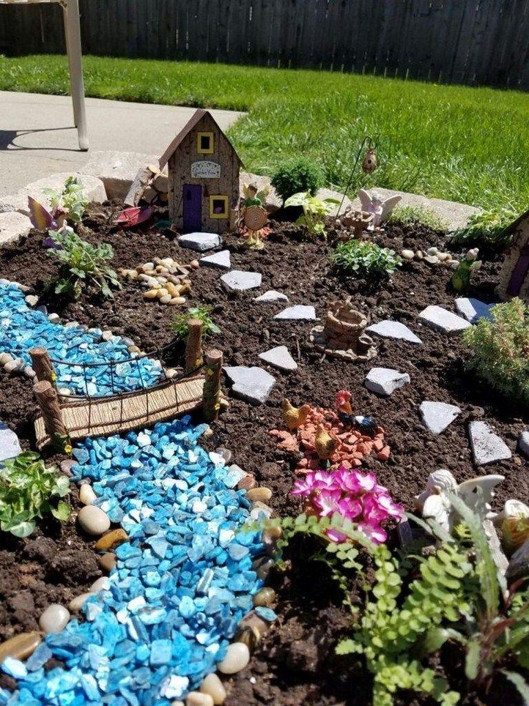 Pretty Fairy Garden Design Ideas To Try39