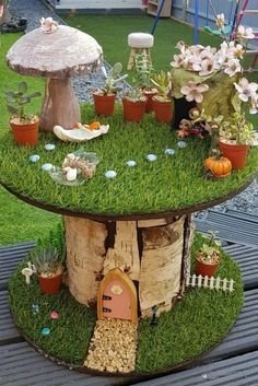 Pretty Fairy Garden Design Ideas To Try40