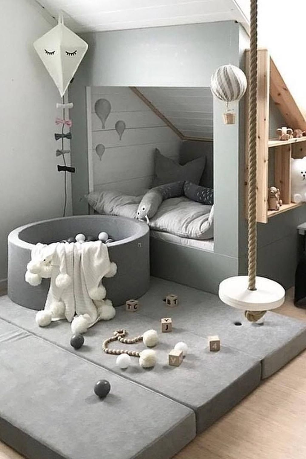Relaxing Kids Room Designs Ideas That Strike With Warmth And Comfort14