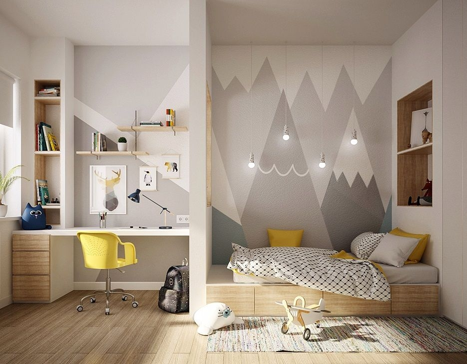 Relaxing Kids Room Designs Ideas That Strike With Warmth And Comfort19