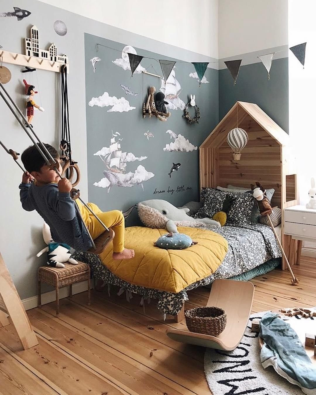 Relaxing Kids Room Designs Ideas That Strike With Warmth And Comfort22