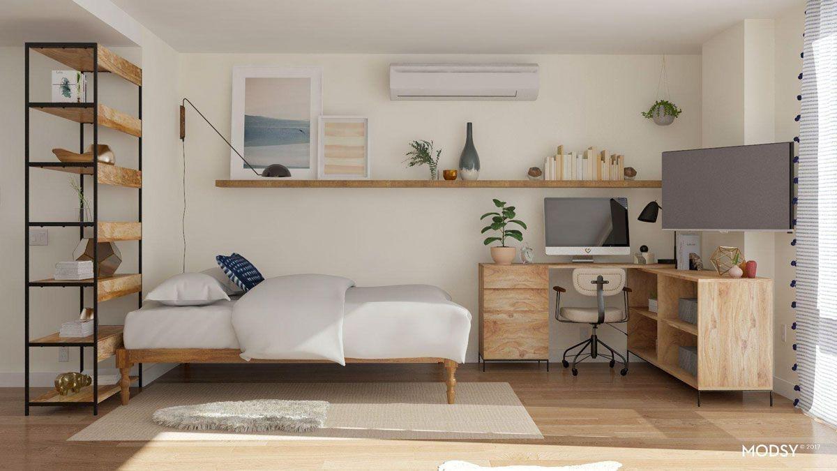 Splendid Studio Apartment Decorating Ideas That Looks Cool12