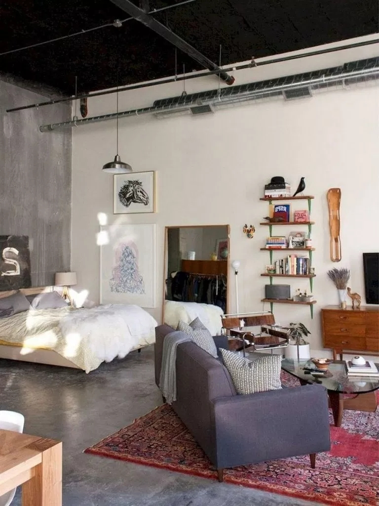 Splendid Studio Apartment Decorating Ideas That Looks Cool14