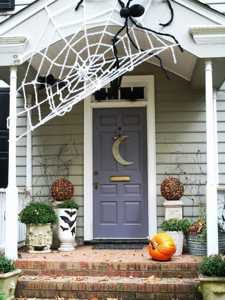 Stylish Outdoor Halloween Decorations Ideas That Everyone Will Be Admired Of08
