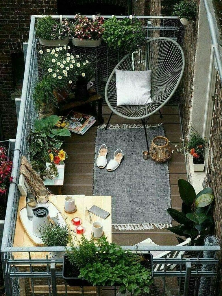 Superb Apartment Balcony Decorating Ideas To Try01
