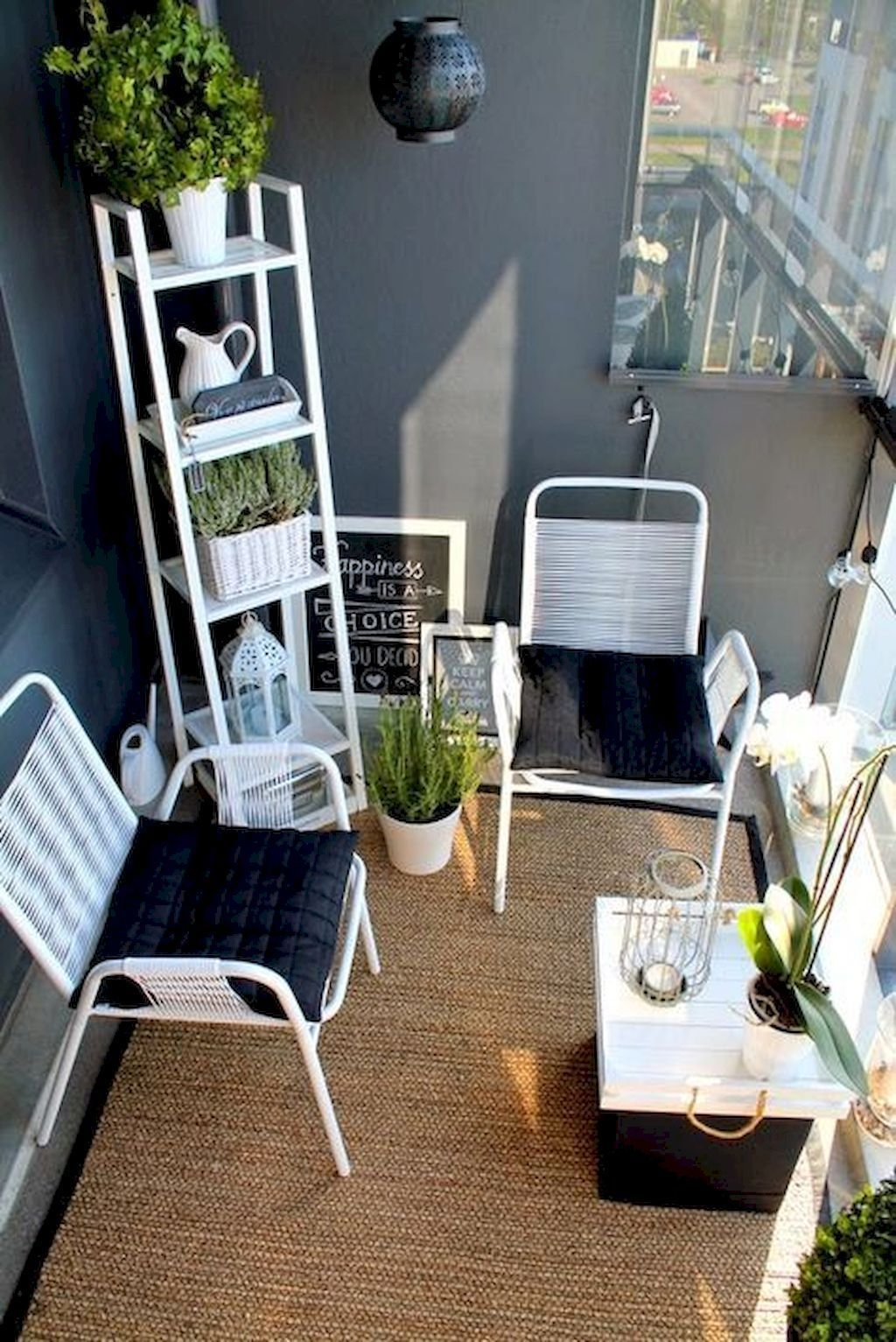 Superb Apartment Balcony Decorating Ideas To Try07