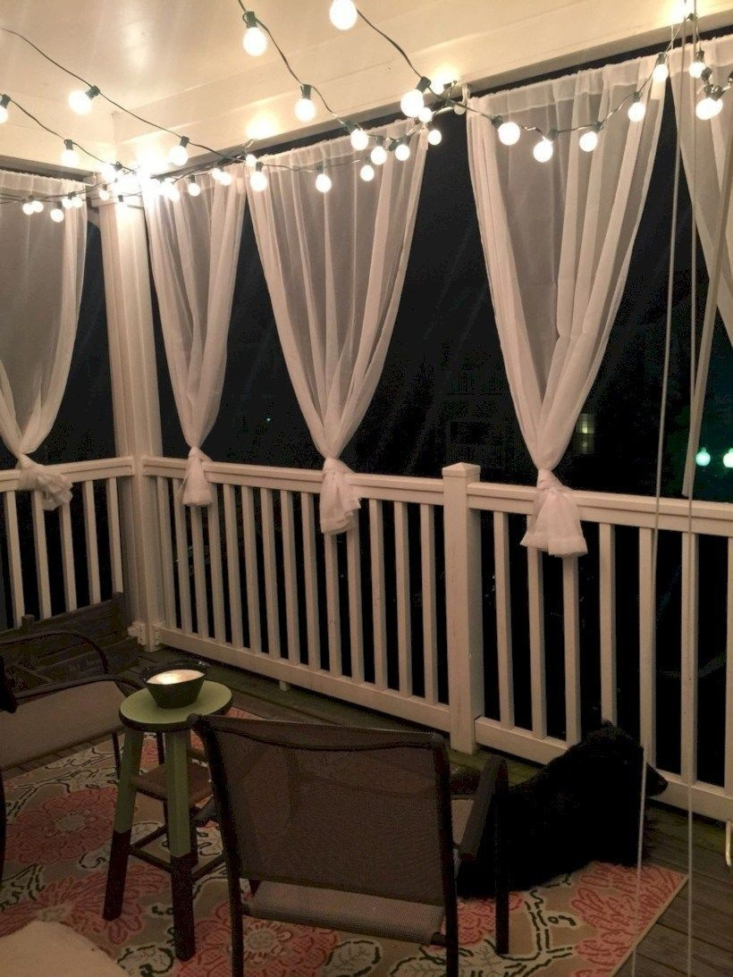 Superb Apartment Balcony Decorating Ideas To Try11