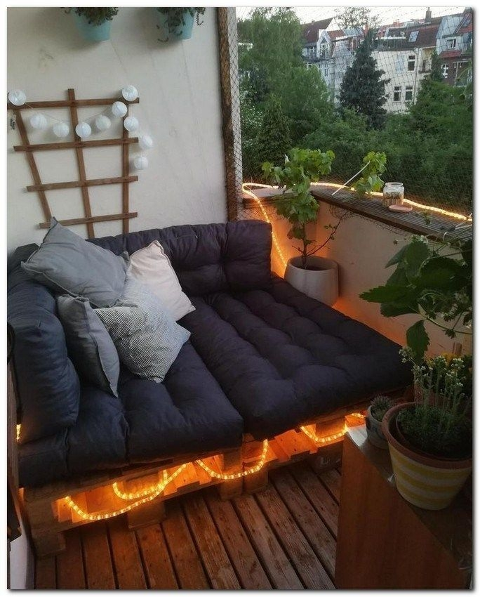 Superb Apartment Balcony Decorating Ideas To Try15