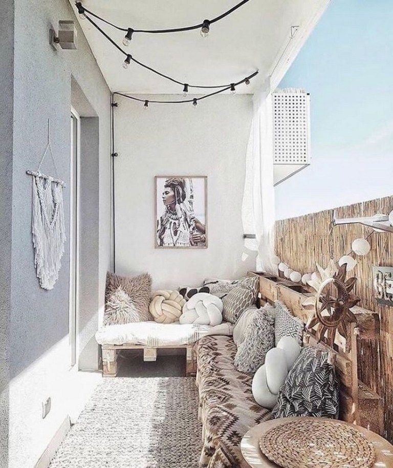 Superb Apartment Balcony Decorating Ideas To Try16