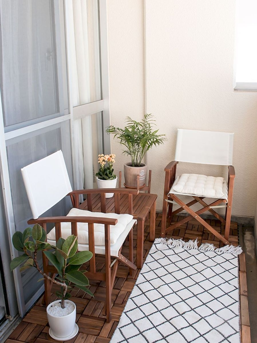 Superb Apartment Balcony Decorating Ideas To Try21