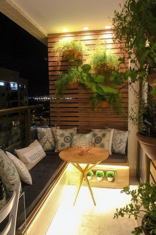 Superb Apartment Balcony Decorating Ideas To Try24