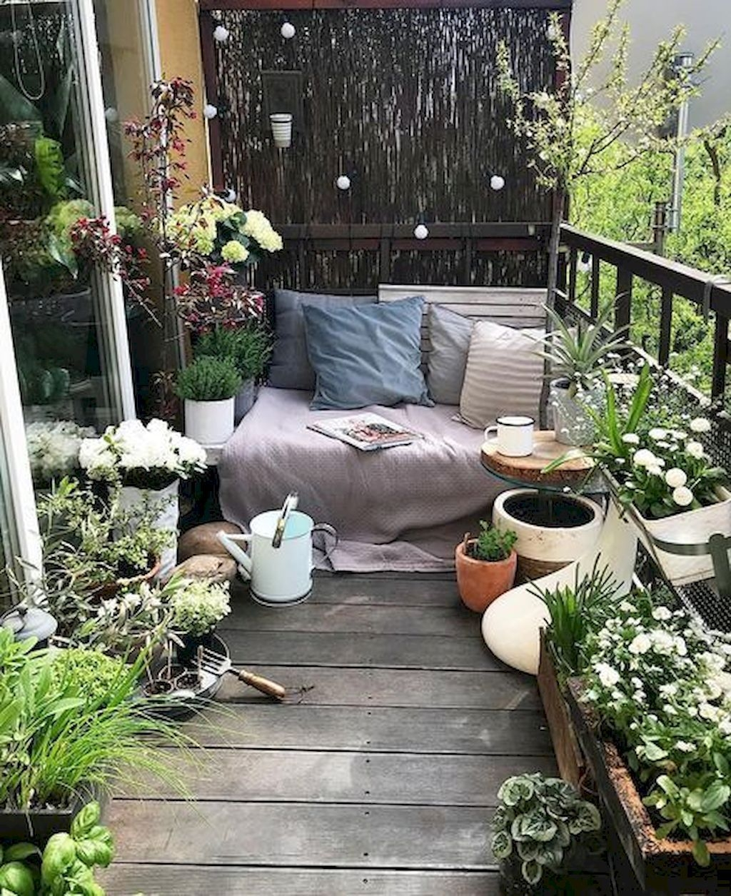 Superb Apartment Balcony Decorating Ideas To Try30