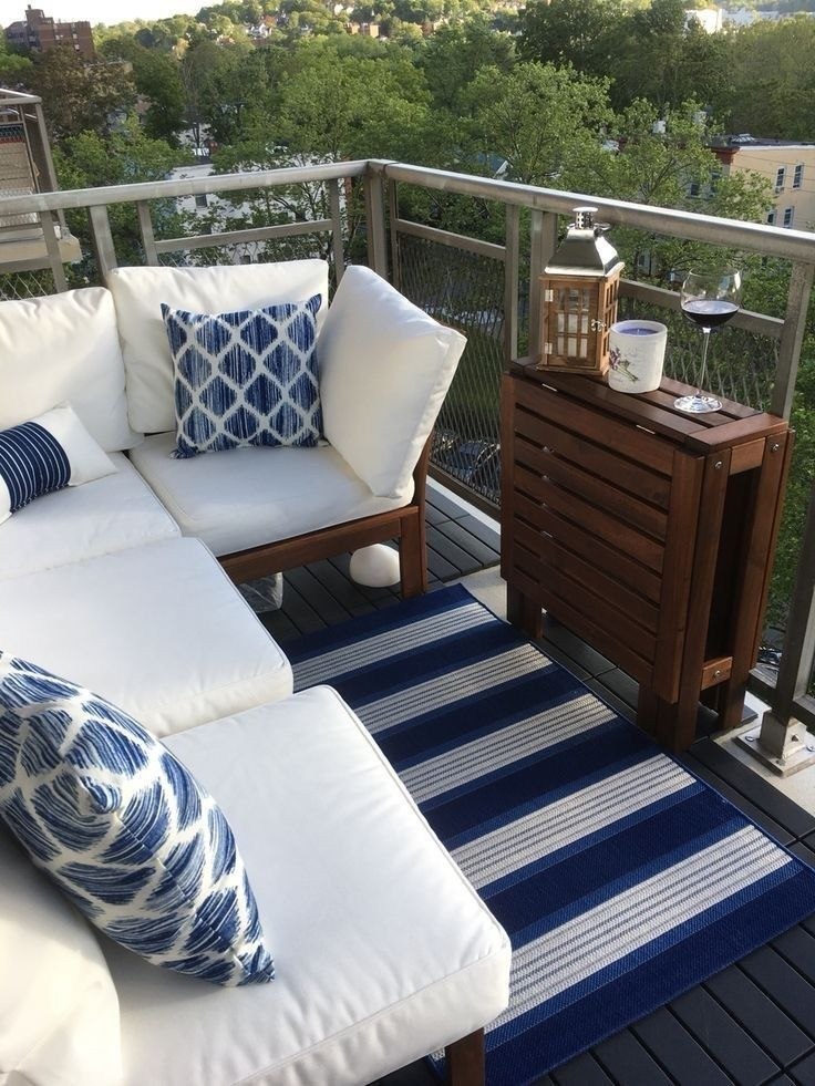 Superb Apartment Balcony Decorating Ideas To Try32