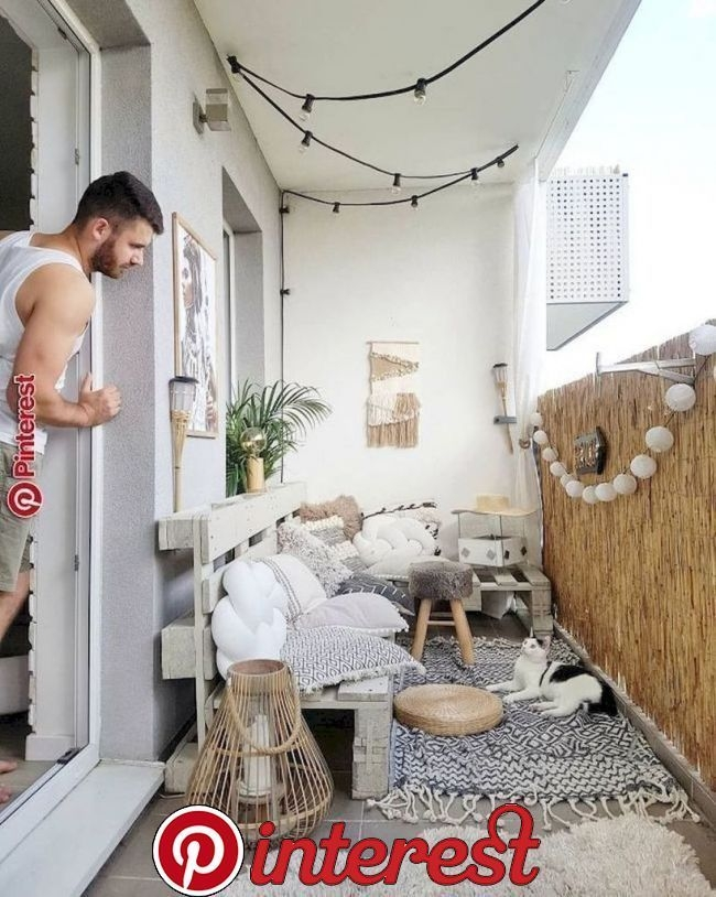 Superb Apartment Balcony Decorating Ideas To Try33