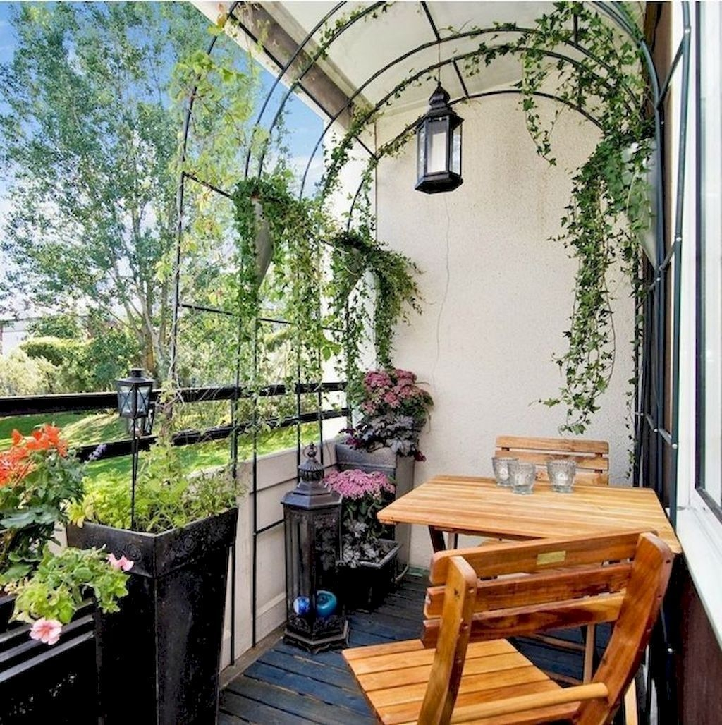 Superb Apartment Balcony Decorating Ideas To Try34