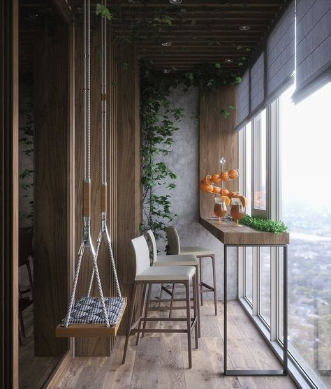 Superb Apartment Balcony Decorating Ideas To Try37