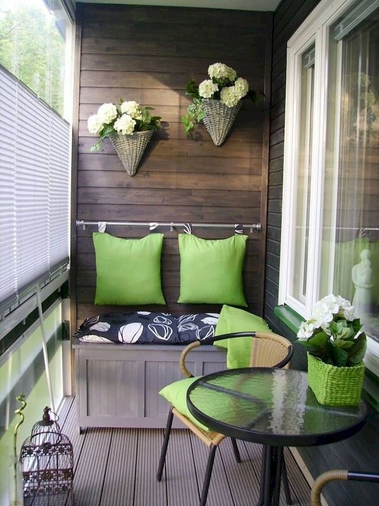 Superb Apartment Balcony Decorating Ideas To Try39