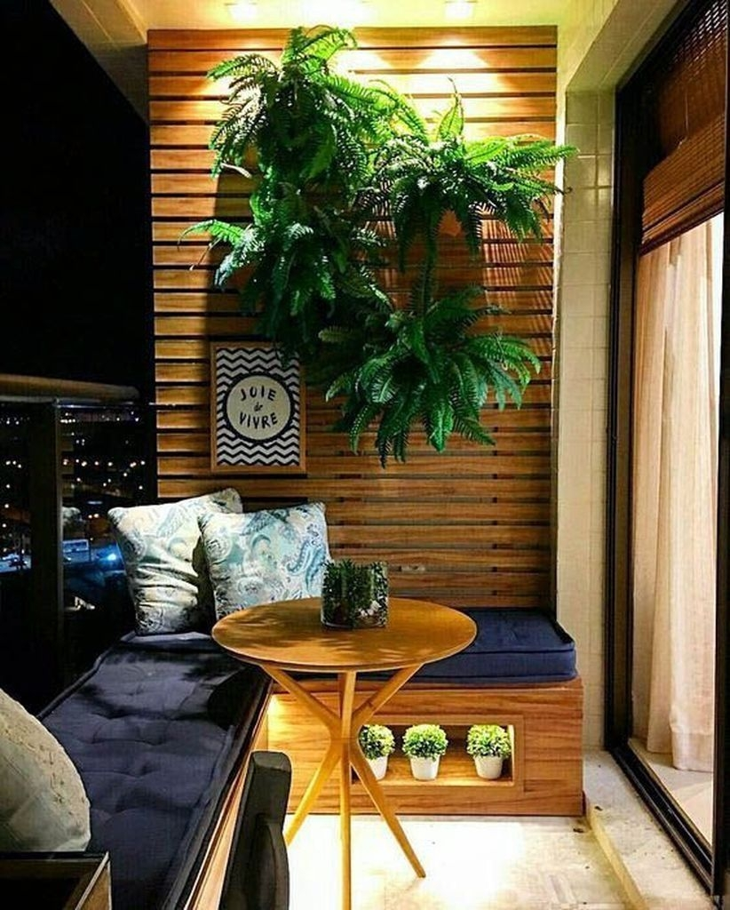 Superb Apartment Balcony Decorating Ideas To Try43