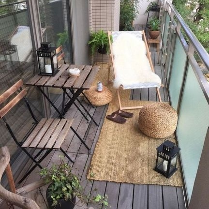 Superb Apartment Balcony Decorating Ideas To Try46